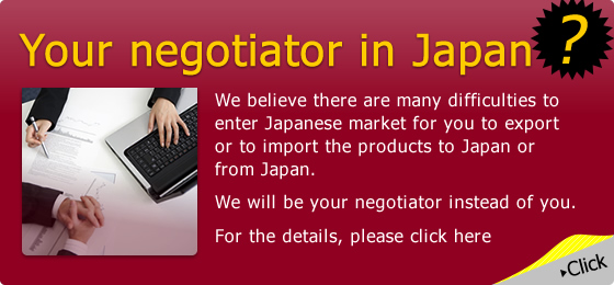 What is your troubles to enter Japanese market?